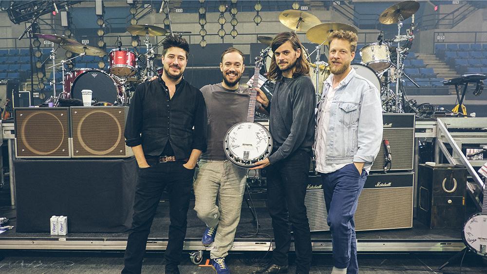 Mumford & Sons Deering Banjo Auction