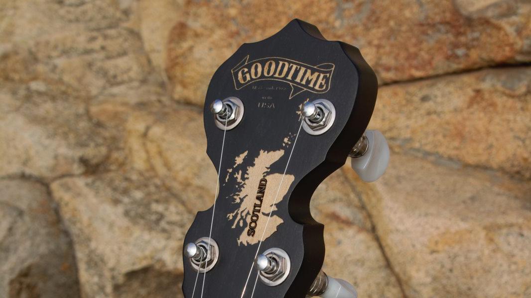 Scotland Banjo Peghead
