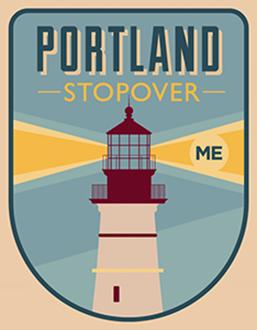 Portland Stopover, ME, USA - 2012